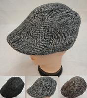 Warm Ivy Cap [Herringbone]